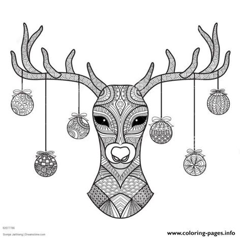 hard deer coloring pages 32 best free adults coloring pages to print images on