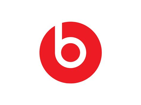 a logo with a beats logo logok