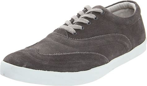 wingtip sneakers mens generic surplus mens wingtip low top sneaker in gray for