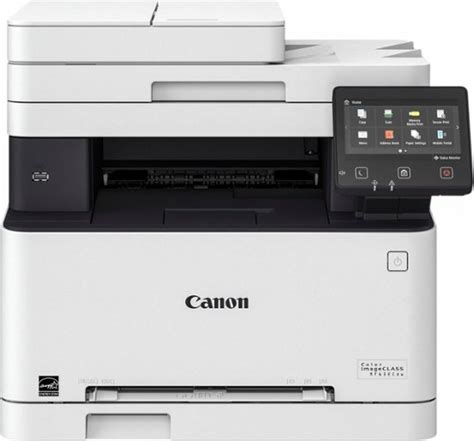 best all in one color laser printer canon color imageclass mf632cdw wireless color all in one