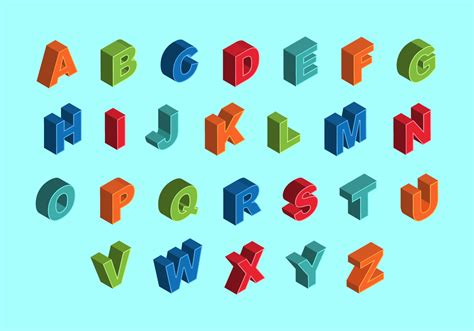 how many letters are in the alphabet isometric alphabet free vector art 1277 free downloads 1279