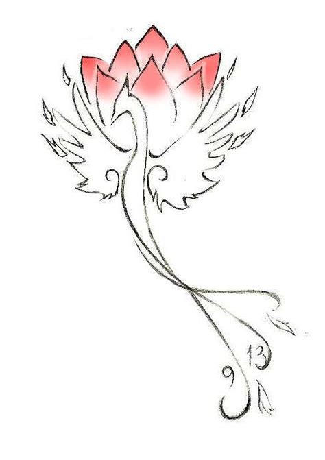 tattoo phoenix lotus phoenix lotus tattoo tattoos pinterest
