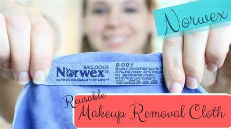 norwex makeup removal cloth  disposable makeup removal wipes youtube