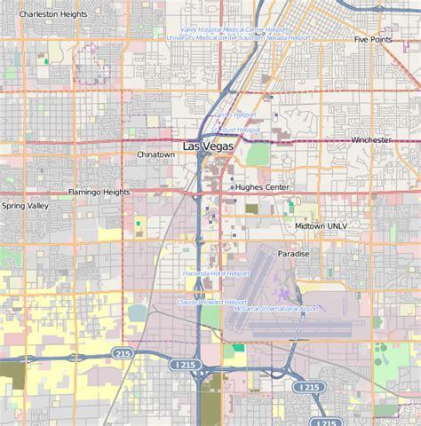 map of downtown las vegas file downtown las vegas map png wikimedia commons