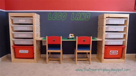 hack storage that mommy blog lego storage and play table an easy ikea