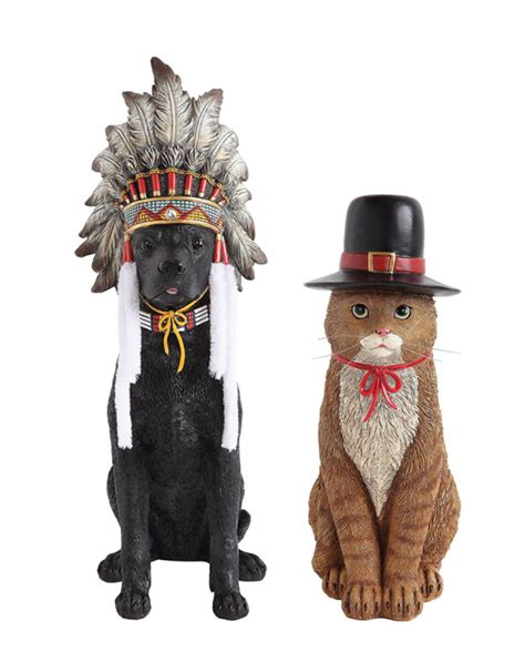 resin pilgrim and indians thanksgiving indians shop collectibles daily