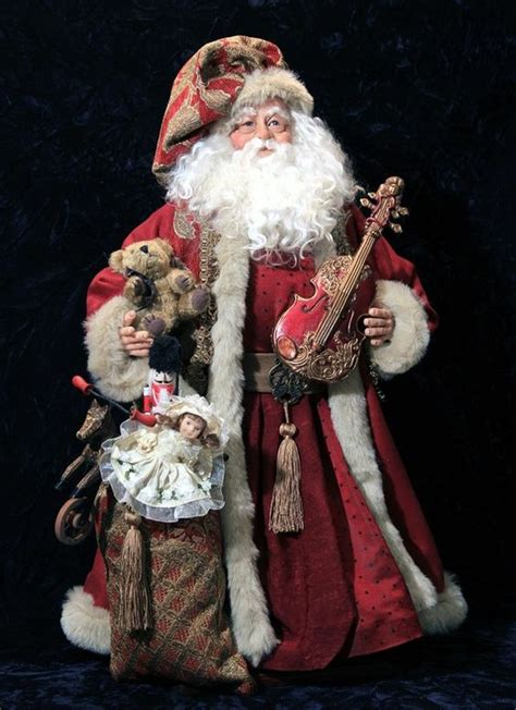 Handcrafted Santa Claus - originals world st nicks handmade original and