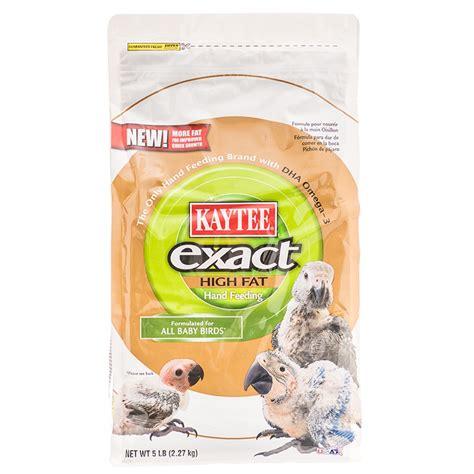 kaytee exact kaytee exact high fat hand feeding baby bird