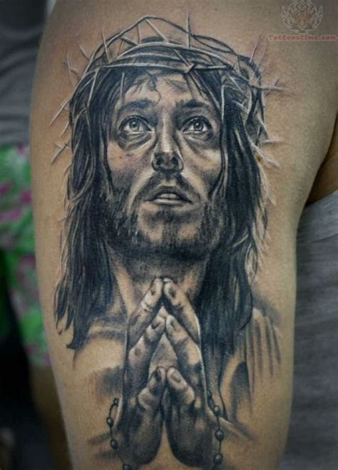 jesus thorn tattoo crown of thorns tattoos tattoofanblog