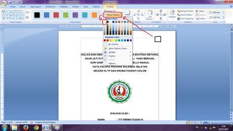 buat halaman ms word cara membuat halaman dengan format berbeda pada ms word