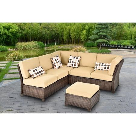 outdoor furniture sectional sofa cheap patio sectional
