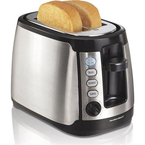 Hamilton 2 Slice Toaster hamilton keep warm 2 slice toaster stainless steel