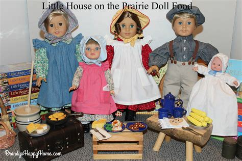 little house on the prairie dolls little house on the prairie pioneer doll food