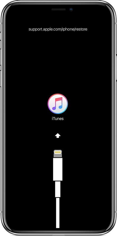 If you see the Connect to iTunes screen on your iPhone
