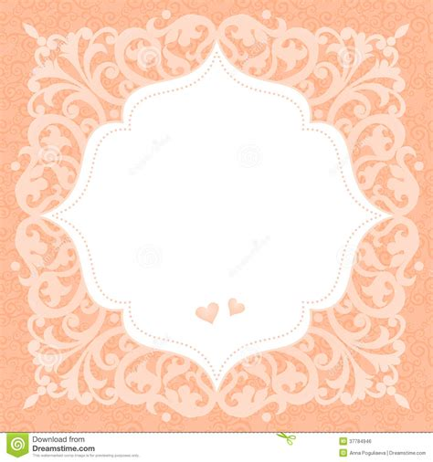free vintage wedding invitation card template vintage invitation card with place for your text stock