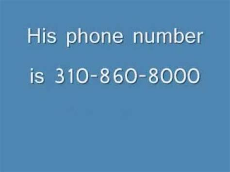 and phone number snoop dogg phone number