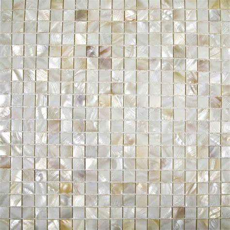 Cheap Kitchen Tile Backsplash natural cream color chinese freshwater shell mosaic tiles