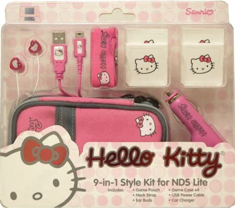 Pouch Handphone Hello Pink Hk085 1 hello starter kit 9 in 1 for nintendo ds