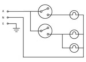 image showing a wiring diagram for a simple lighting circuit images frompo