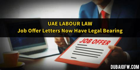 Offer Letter Legally Binding Uae Submitting My 30 Day Employment Notice Dubai Ofw