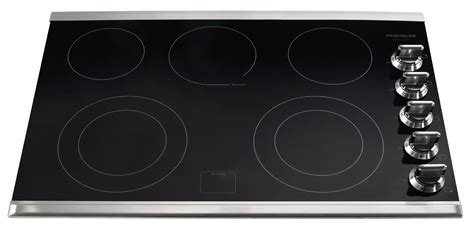 frigidaire fgecms gallery  electric cooktop