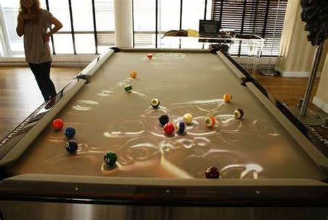 Convertible Dining Room Pool Table Light Sensor Pool Tables The Obscura Cuelight Brightens