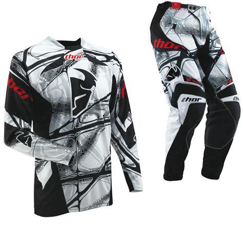 Home Racing Gear Depan Scorpio 428x15t thor s13 scorpio white motocross kit clearance