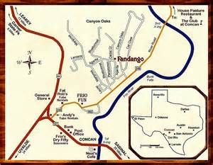 concan map frio river cabin rental fandango house map