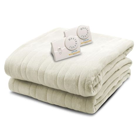 biddeford blankets 1004 series comfort knit heated 100 in
