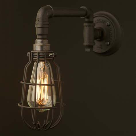 Home Decor And Lighting by Vintage Black Wall Bracket Light