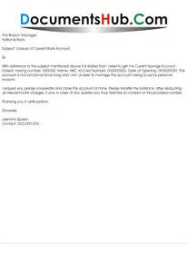 Account Closing Application Letter Application To Close Bank Account Documentshub Com