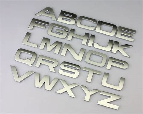 Auto Decal Numbers by 3d Letter English Letters Stickers Arabic Numbers Decals