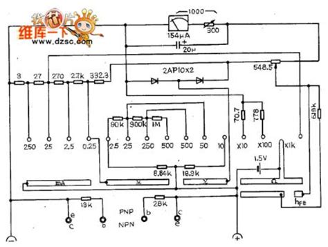 Multimeter Analog Heles multimeter circuit diagram pictures to pin on