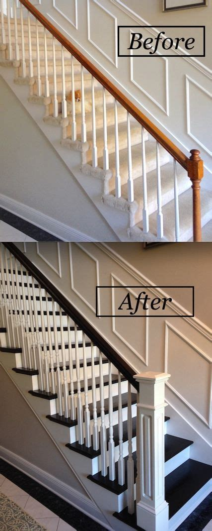Banister Remodel by Best 25 Banister Remodel Ideas On