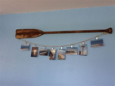 Boat Paddle Decor by