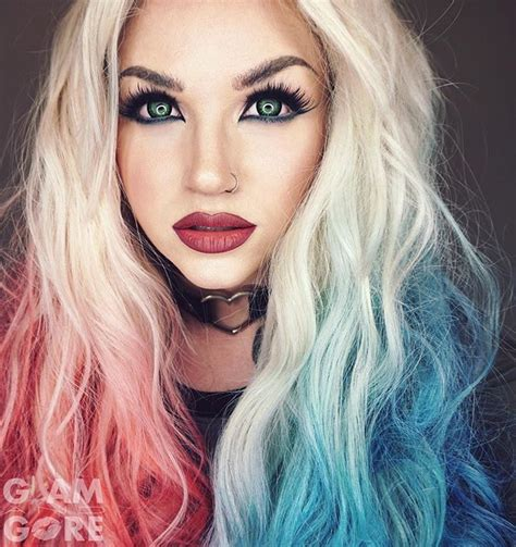 harley quinn hair color instagram analytics she is gorgeous and harley quinn