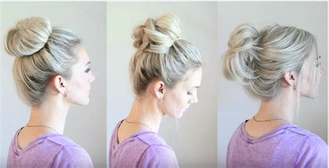 Different Bun Hairstyles by 6 Different Buns Hairstyles For You