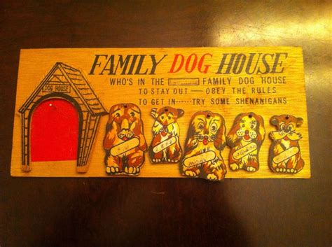 dog house plaque vintage family dog house wall plaque sign wall plaques dogs and dog houses