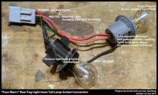 honda civic how to install rear fog lamp honda tech