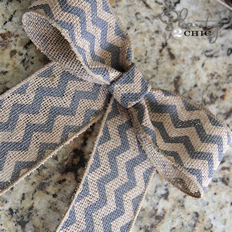 how to place burlap bow and burlap streamers on christmas tree diy wreath for shanty 2 chic
