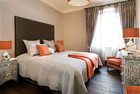 orange bedroom decorating with orange accents inspiring interiors
