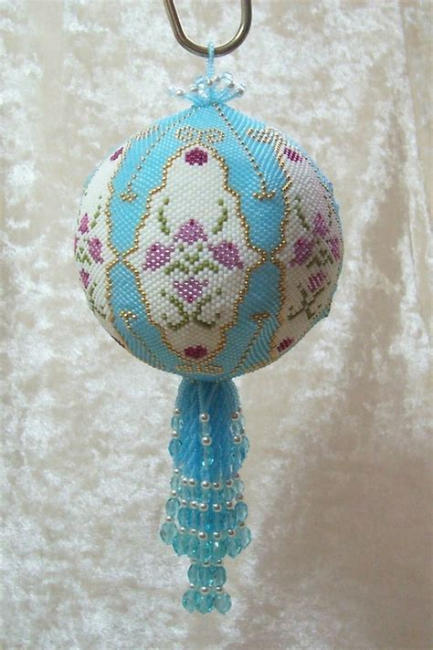beaded ornaments patterns 99 best beaded ornaments images on