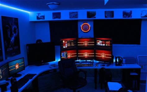 pc gaming room 22 amazing gaming room set ups