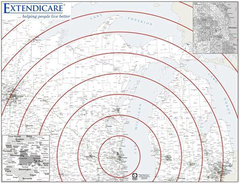 us map with distance radius themapstore custom mapping concentric circles radius