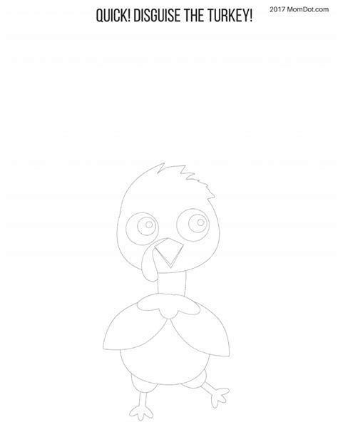 disguise a turkey template disguise the turkey templates free momdot