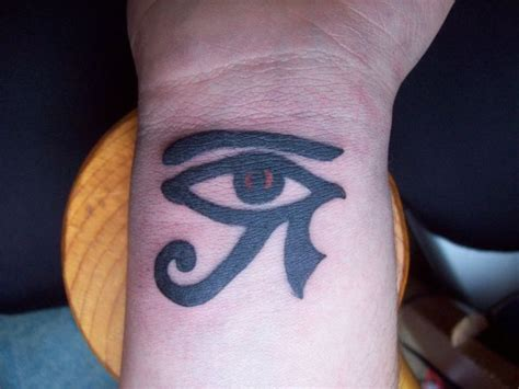 all seeing eye wrist tattoo eye of ra this symbol also known as the eye of