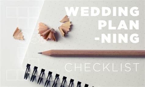 Wedding Hire Checklist by Wedding Planning Checklist For Big Or For Simple