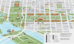 map of the mall of national mall signage and wayfinding segd