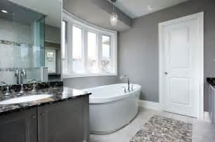 graues badezimmer gray bathroom contemporary bathroom toronto by