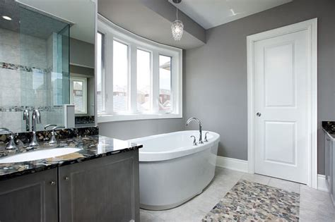 gray bathroom contemporary bathroom toronto